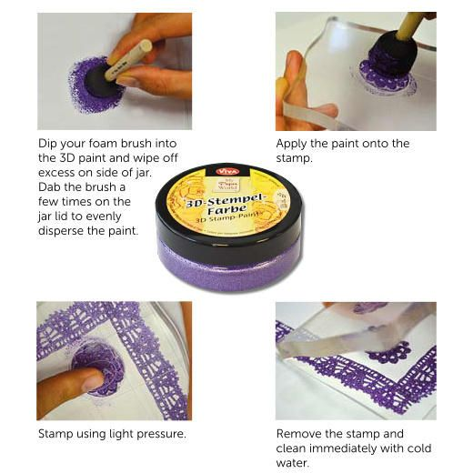 3D Stamp Paint - Australia's Largest Online Scrapbooking & Craft Superstore