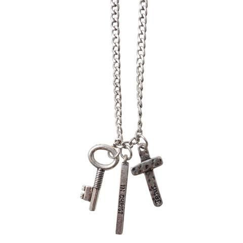 Guy's Necklace - Stand Strong In Christ