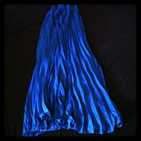 Georgeos Evening Midi Skirt  Long blue midi skirt. Suits for evenings and going outs Skirts Maxi