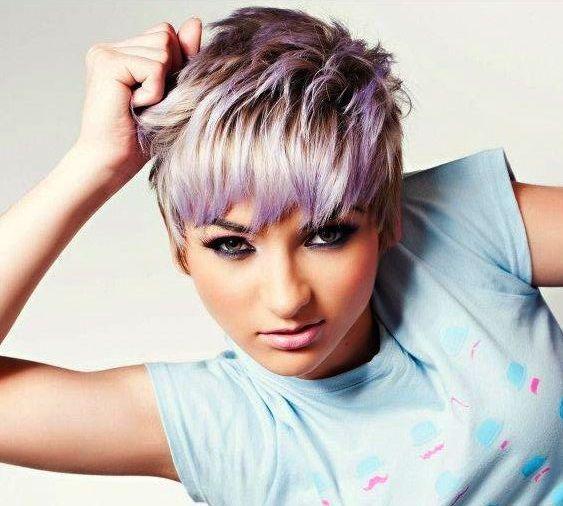 Deine kurzen Haare färben? Wählen Sie eine weiche Pastellfarbe! Lassen Sie sic –  – #Kurzhaarfrisuren