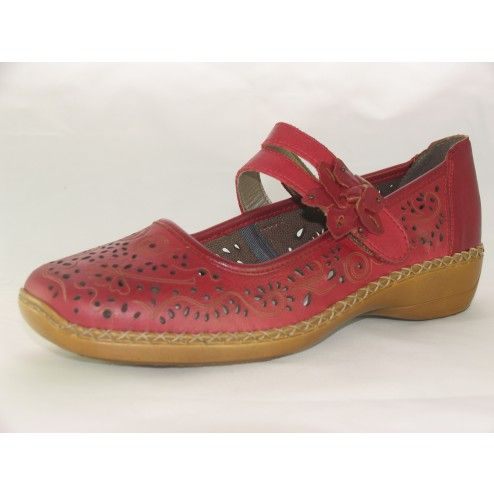 Rieker 41372 Ladies Casual Bar Shoe