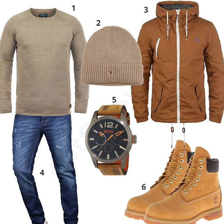 Beige-Braunes Herrenoutfit mit Timberland Boots (m0757) #outfit #style #herrenmode #männermode #fashion #menswear #herren #männer #mode #menstyle #mensfashion #menswear #inspiration #cloth #ootd #herrenoutfit #männeroutfit