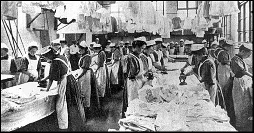 The Good Shepherd Convent, Magdalene Asylum, early 20th century. THEY SAID IT WAS A home for sinful women. ACTUALLY, SLAVE LABOR.