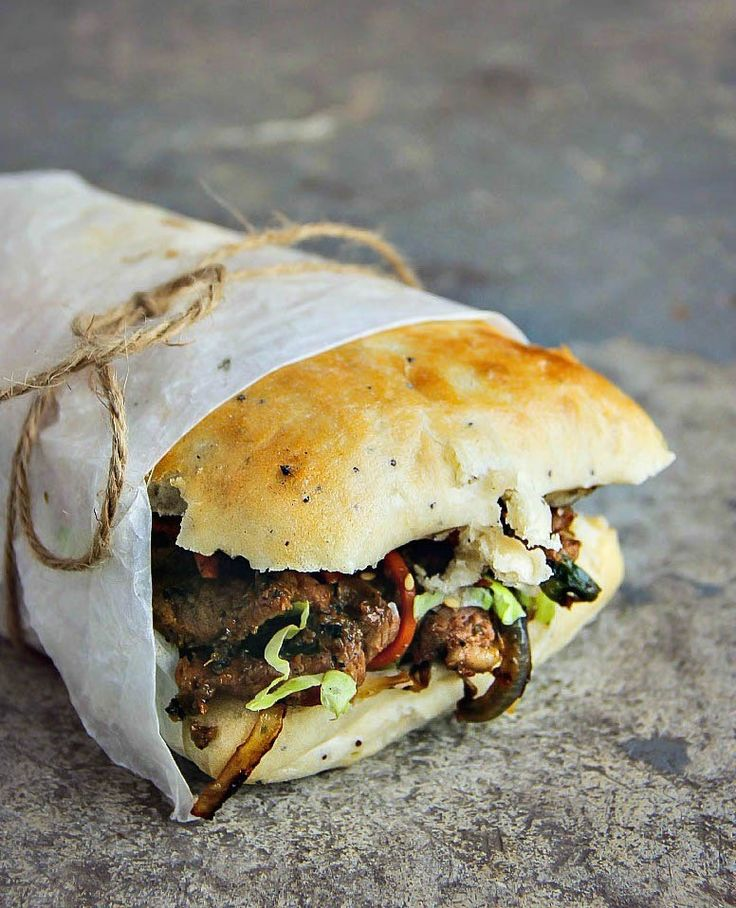 Step up your sandwich game with this Bulgogi Ciabatta Sandwich recipe.