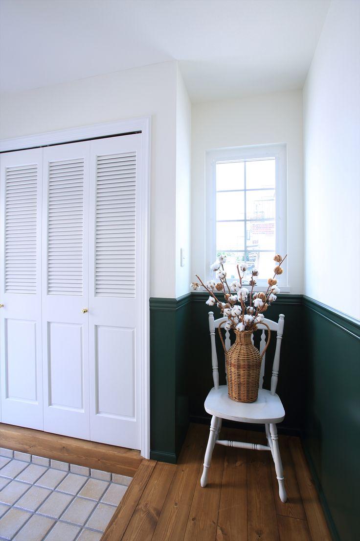 海外のお部屋の様な内装、輸入ドア・輸入建材でかわいい空間に!