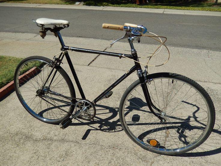 1958 Hercules 3 Speed Vintage English Bicycle | eBay