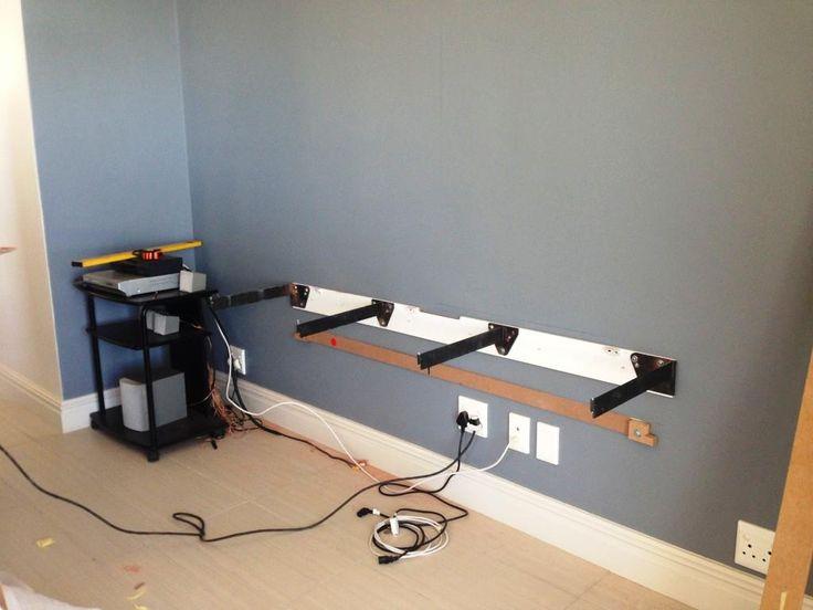 heavy duty invisible floating shelf bracket google. Black Bedroom Furniture Sets. Home Design Ideas