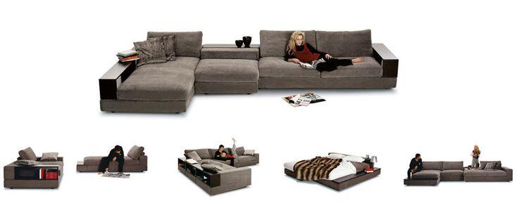 King Furniture - Jasper modular lounge system in leather or fabrickings