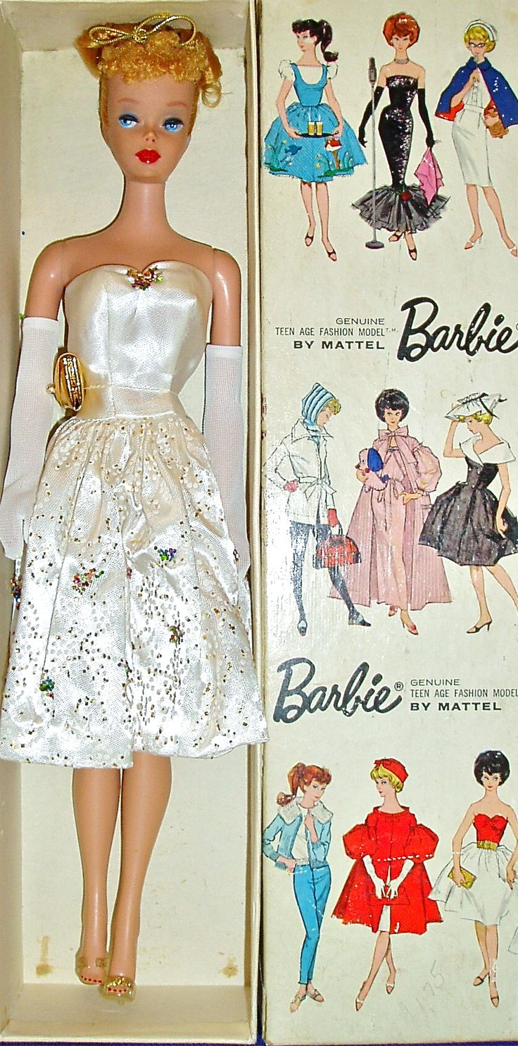 """#4 Ponytail Barbie (With Updo) In """"Party Date"""" Variation"""