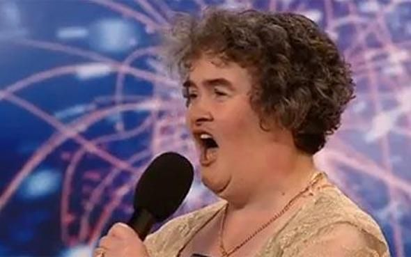 Susan Boyle... Even The Singing Became Boring When The Novelty Passed....