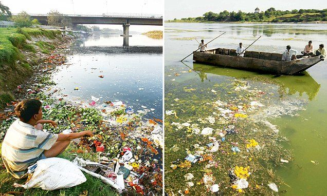 According to the latest assessment by the Central Pollution Control Board (CPCB), the number of polluted rivers has gone up from 121 in 2009 to 275.