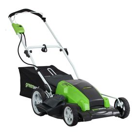 In the market for a new mower, considering this one! Greenworks�13-Amp 21-in Corded Electric Push Lawn Mower