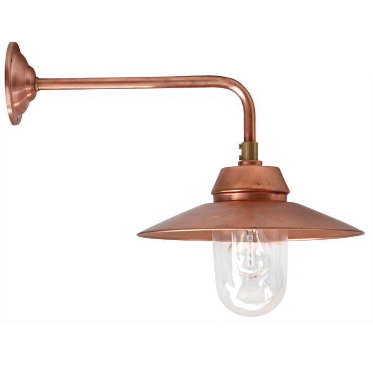 All-Purpose Outdoor Barn Lamp BW 135 Copper *Landhaus-Wandlampe BW 135 Kupfer