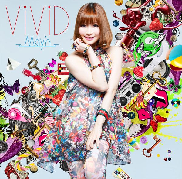 ViViD May'n ブラッドラッド OP Anime, Anime music, Music