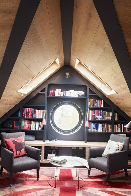 Bookshelf porn. It's a thing. See the most brilliant bookshelf ideas ever, from colour-coded bookshelves to fabulously fitted. How novel!