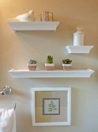 25 best ideas about floating shelves bathroom on - Floating shelf ideas for bathroom ...