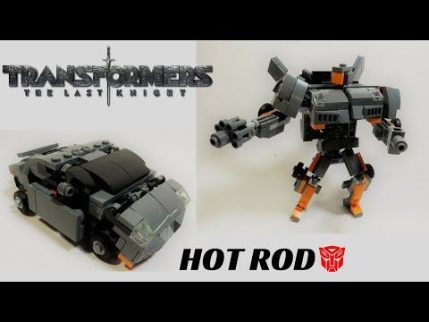 (TUTORIAL/INSTRUCTIONS) Lego Transformers 5 The Last Knight- Hot Rod - YouTube