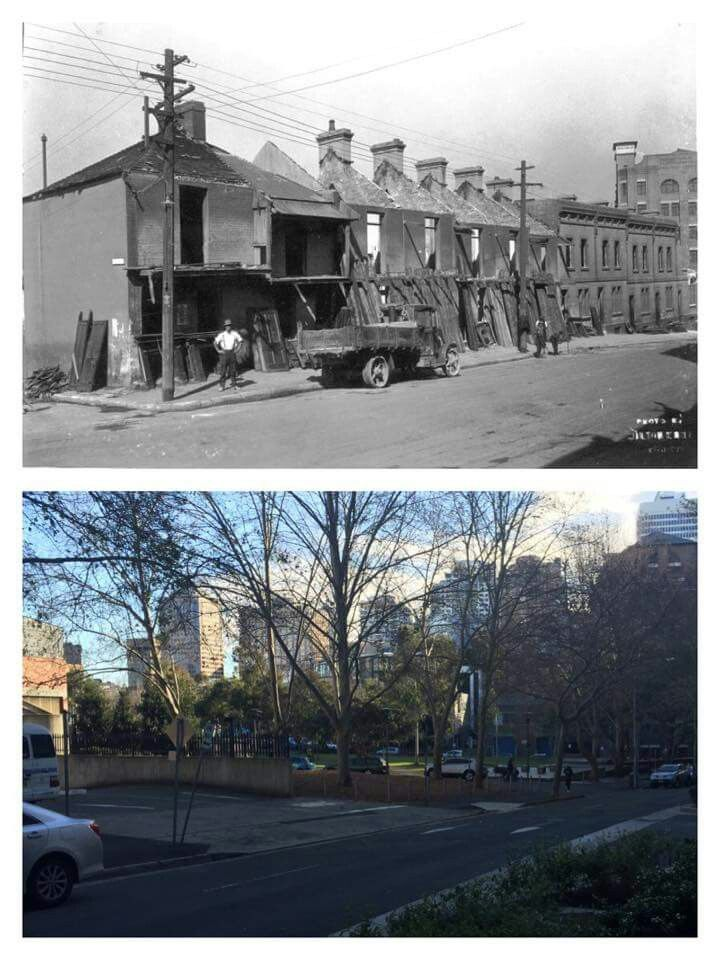 Goulburn St,Surry Hills,Sydney looking south west from corner of Pelican St *** 1928~2015 *** City of Sydney Archives~? *** A♥W