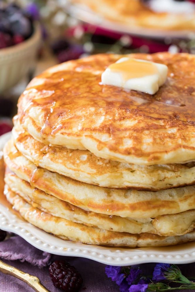 These Really Are The Very Best Buttermilk Pancakes My Family Loved These Breakfastreci In 2020 Pancake Recipe Buttermilk Pancake Recipe Easy Homemade Pancake Recipe