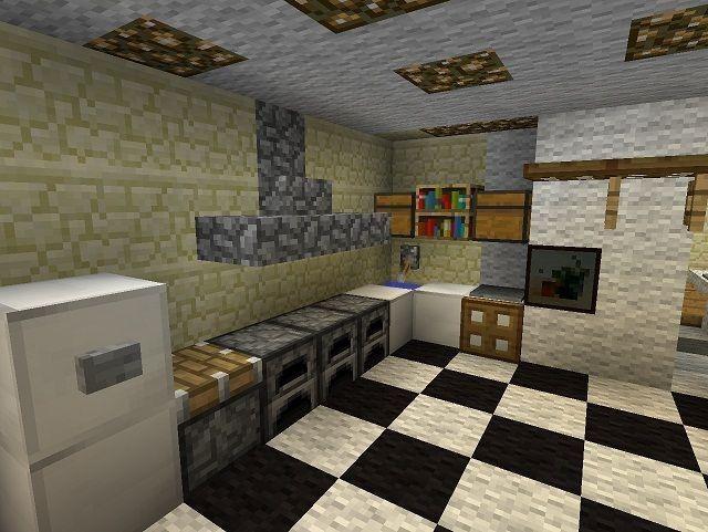 Minecraft Badezimmer Dekor Alle Dekoration Minecraft Kitchen Ideas Minecraft House Designs Minecraft Interior Design