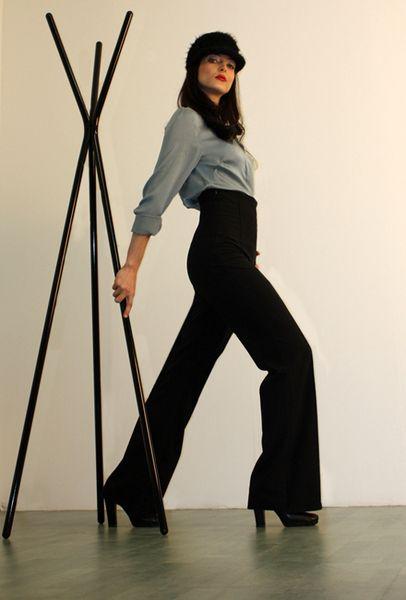 Die hohe Hose von m.a.p.h.i.a - Modeatelier auf DaWanda.com