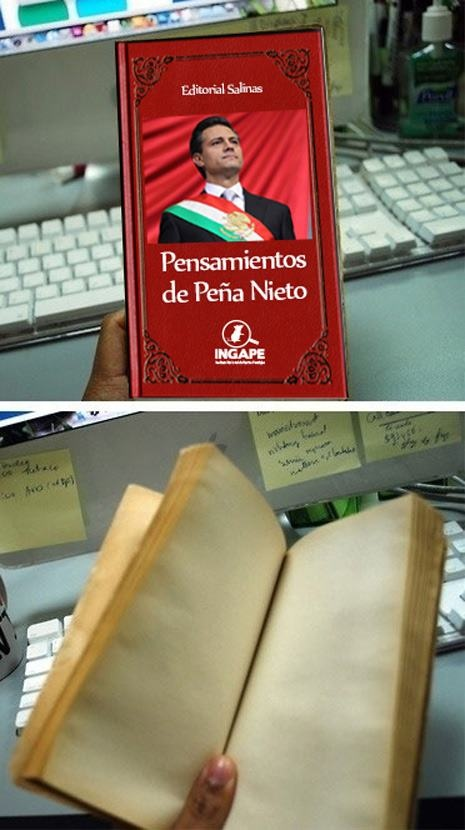 el nuevo libro de peñita