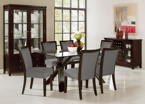 American Signature Furniture Caravelle Tango II Dining Room Collection Li