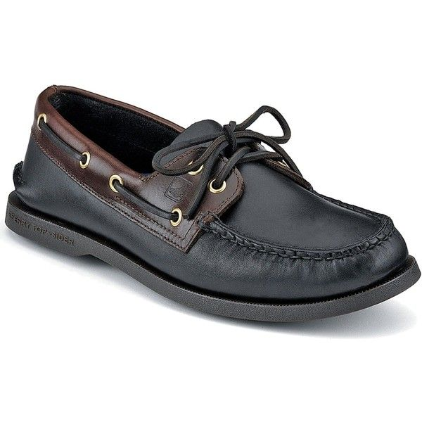 Sperry Men's Authentic Original A/O Boat Shoe ($95) ❤ liked on Polyvore featuring men's fashion, men's shoes, men's loafers, mens deck shoes, mens leather boat shoes, mens shoes, mens leather shoes and sperry top sider mens shoes