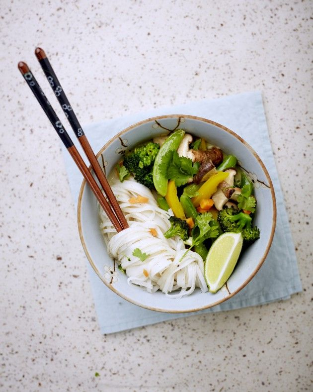 Green veggie curry