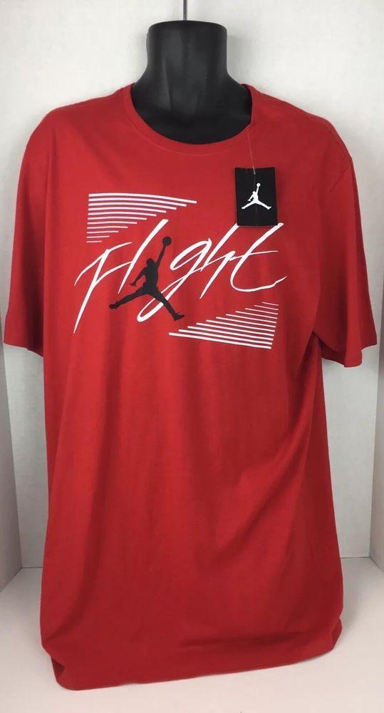 8708331d Jordan Jumpan Flight XLT Red Shirt AR3360. Front to bottom: 29