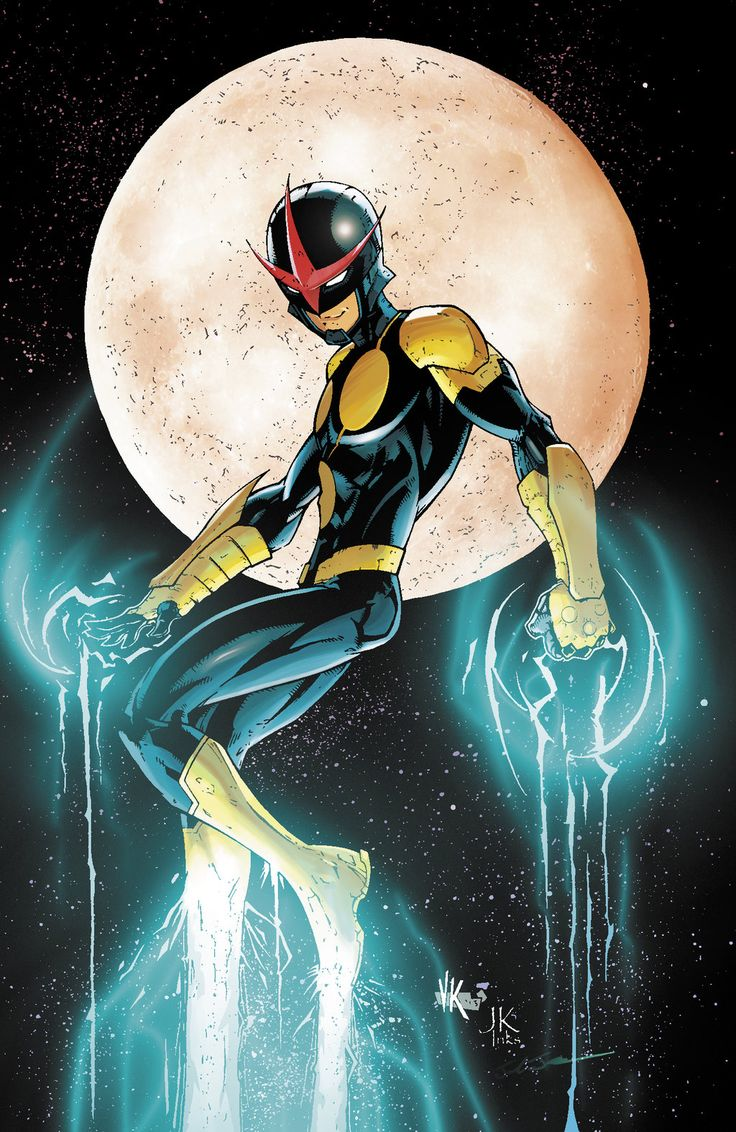 Nova - Pencils by V Ken Marion, Inks by Jeff Graham, Colors by Joshua Jensen