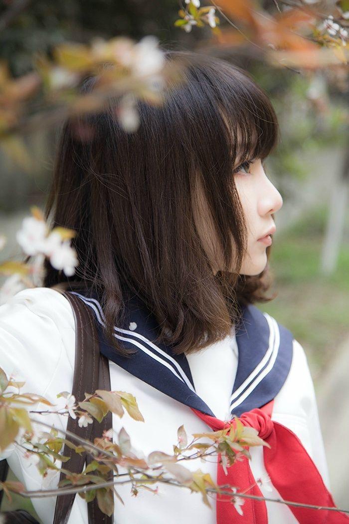Nanako(七奈) School Uniform Cosplay Photo - Cure WorldCosplay