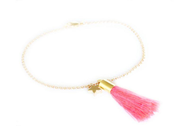 Bracelet Ponpom étoile #bijoux Bijoux fantaisie