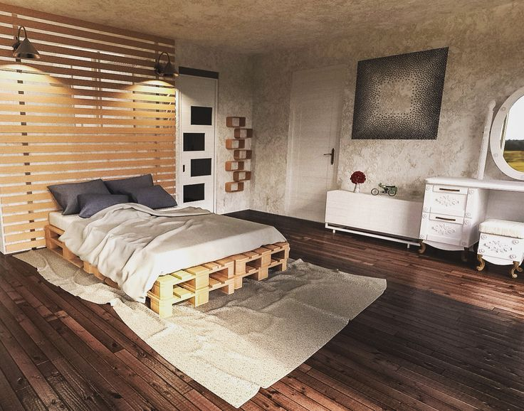Open-space Master Bedroom #architecturaldesign #3drendering #cgi #interiordesign