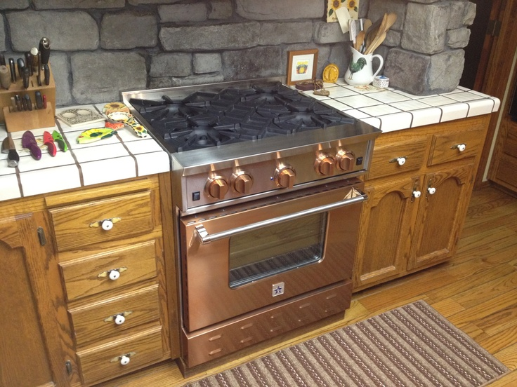 Bluestar Copper 30 Gas Range Available At Www Idlers Net