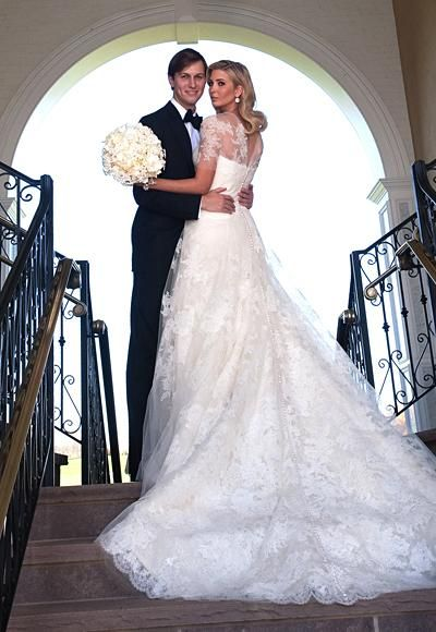 100 Memorable Celebrity Wedding Moments , Ivanka Trump from InStyle