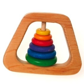 Grimms Wooden Rattle