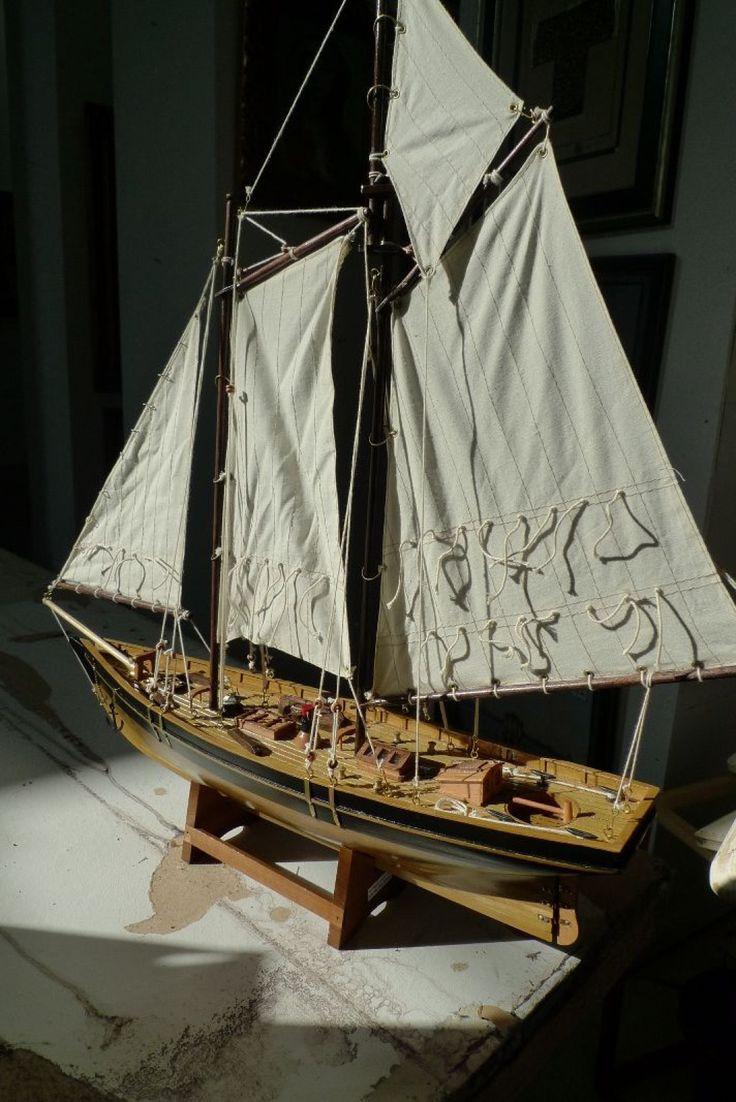 Maquette de Bateau sous voile. Faure et Associés - 11/04/2015