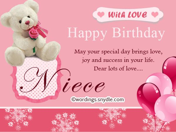 17 best ideas about Happy Birthday Niece – Greetings About Birthday
