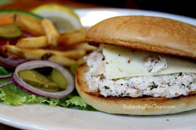 Crabmeat Sandwich from Phil's Fish Market in Monterey, CA