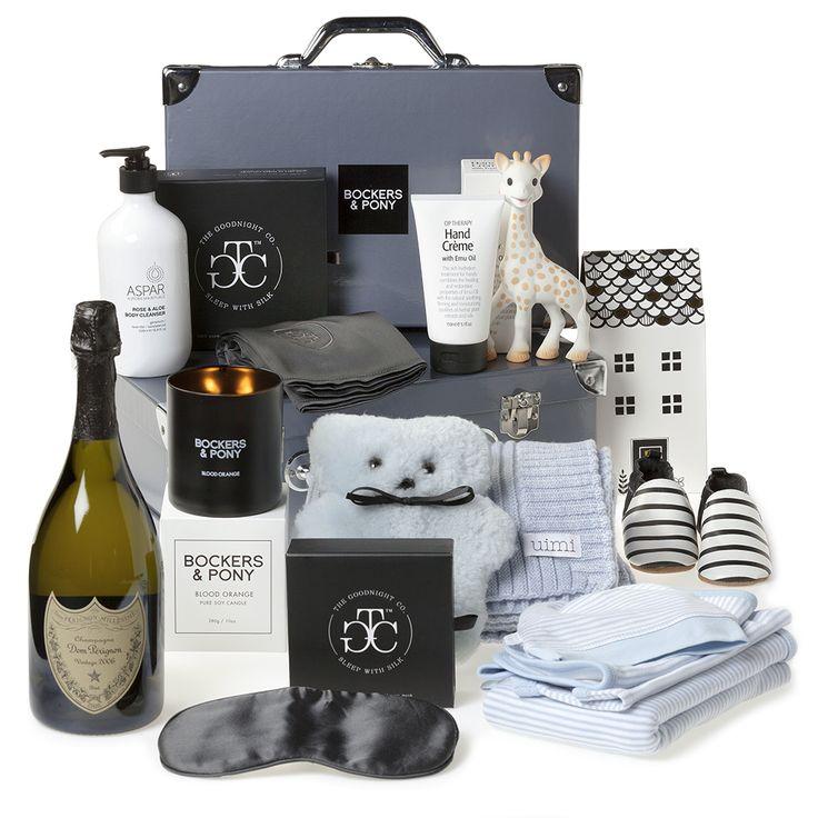 Lap of Luxury Baby Boy Hamper | Luxury Baby Gift Hampers - Bockers and Pony