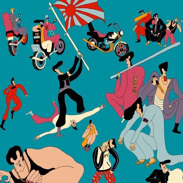Wakana Yamazaki illustration 2012