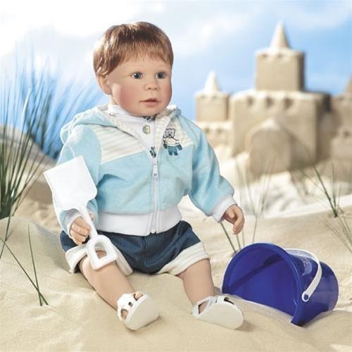 Lee Middleton * Building Sand Castles * Artist Studio * Limited Edition Doll