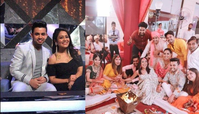 Neha Kakkar Enjoys Friend S Wedding With Rumoured Boyfriend Vibhor Parashar And Looks Cheerful Friend Wedding Falling In Love Again Me As A Girlfriend