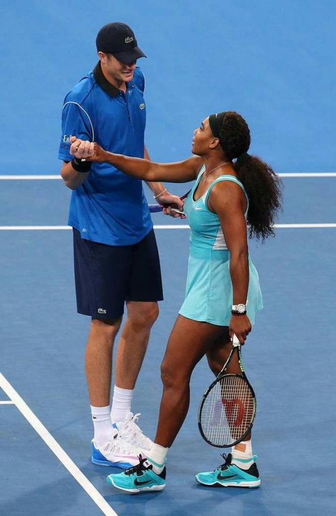 Serena Williams and John Isner give USA 3-0 win over Italy in Hopman Cup