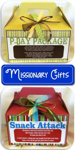 LDS missionary gift ideas: online party supply store: