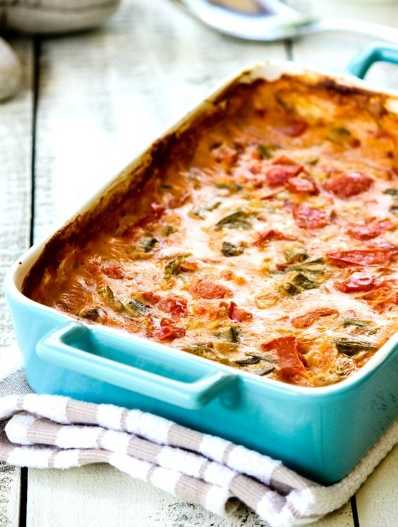 Okra and tomato casserole recipe. Fresh okra, tomatoes and thyme baked in a light roux topped with breadcrumbs is the perfect side!