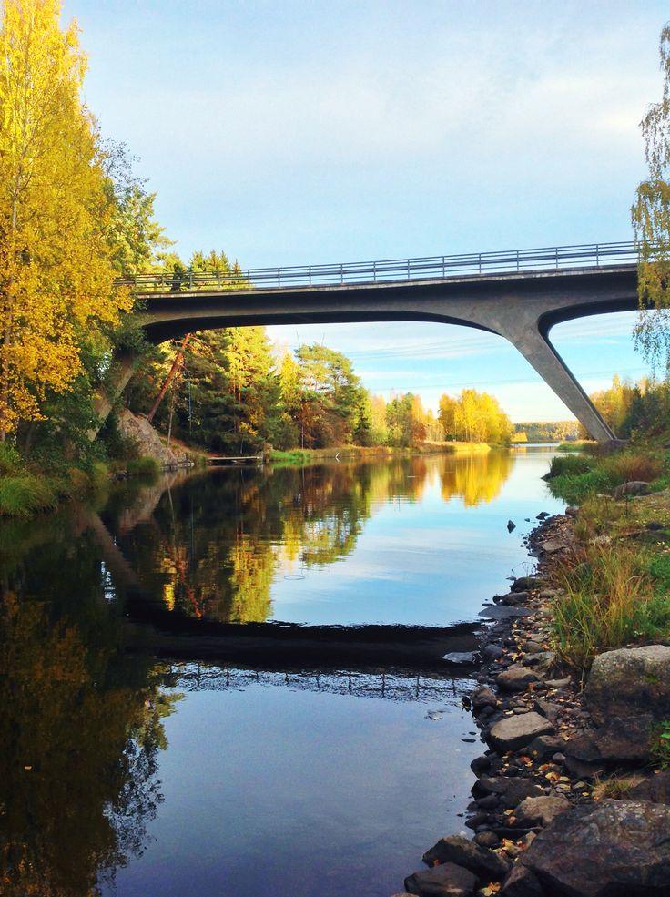 Otamus bridge, Siuro, Tampere region, Finland