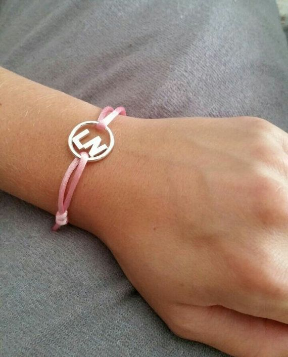 Initialen armband zilver. van Atelier925 op Etsy