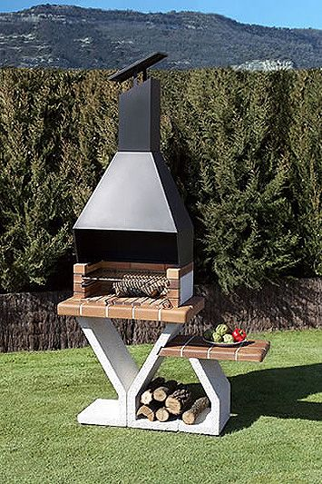 Best 25 asadores ladrillo ideas on pinterest asadores for Barbacoas para jardin